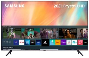 Samsung 2021 Range UE55AU7100 UHD 4K Smart TV.