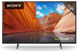 "Sony KD65X80J 65"" 2021 range 4K High dynamic range Television."
