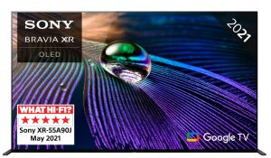 "Sony 55"" XR55A90J Ultra High Definition OLED TV 2021 Range"