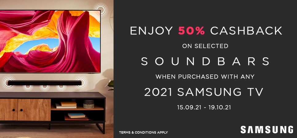 Samsung 50% Cashback